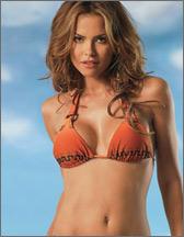 Erotic bikini babe